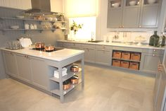 Kitchen trends 2016: This traditional kitchen style is now available in the beautiful Pearl Grey kitchen tone.