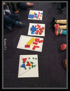 "Sorting by shape - from Rachel ("",)"