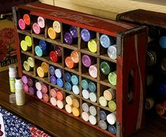 7 Ways to Repurpose Old Soda Crates | Decorating Your Small Space