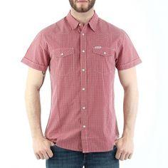 Krój: Regular fit Materiał: 100% bawełna Męska koszula, o regularnym kroju zapinana na guziki.     Producent: Wrangler   Dostępność:   Dostępny