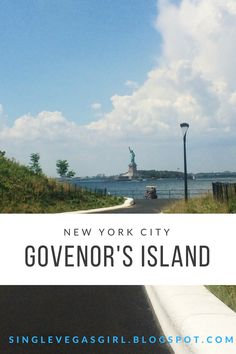 Looking for something to do in New York City? Read my post about visiting Governor's Island! (:  http://singlevegasgirl.blogspot.com/2016/10/travel-tuesday-nyc-govenors-island.html