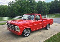 Custom Ford Trucks, Classic Ford Trucks, Old Ford Trucks, Pickup Trucks, Classic Cars, Ford Lighting, Old Ford Pickups, F100 Truck, Old Pickup