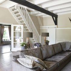 Mooie landelijke woonkamer