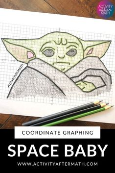 "This is a great activity where students graph points on a coordinate plane and it creates an outline of a Space Baby Alien! The clever title of ""Your path you must decide."" gives them a clue to what… Forest School Activities, First Day Of School Activities, School Fun, School Stuff, Graphing Activities, Math Games, Math Intervention, Secondary Math, Math Classroom"