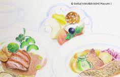 2013_10_16_yoshimoto_03_s for this drawing I used; Faber castell polychromos                  © Belta(WAKABAYASHI Mayumi )