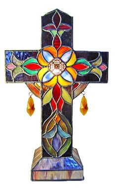 beautiful cross in multi colors