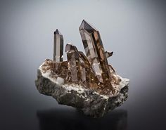 Smoky quartz Ziggenstock, Grimsel, Switzerland
