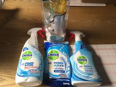Cleaning up with Dettol