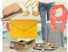 """""""nautical outfit"""" by mrshough on Polyvore"""