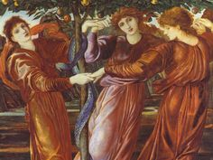 Edward-Burne-Jones-Il-giardino-delle-Esperidi