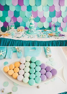 Sparkling Under the Sea First Birthday Party