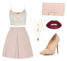 """Untitled #3"" by raluca-ioana-ii on Polyvore featuring Alexander McQueen, Dorothy Perkins and Salvatore Ferragamo"