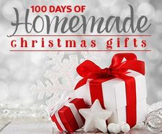 100 Days of Homemade Christmas Gifts | The Happy Housewife --- tons of ideas for him, her, kids, & home