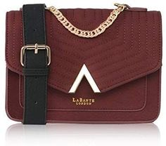 b677c73edde LaBante - Cross Body Bag - Ida - Small Bag Clutch Bag Quilted Bag | Red