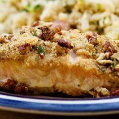 """30 Minute Meal: Alaska Salmon Bake with Pecan Crunch Coating   """"This was delicious! And so quick! I used Italian bread crumbs, but other than that I didn't change anything. The dish turned out marvelous."""""""