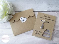 Check out this item in my Etsy shop https://www.etsy.com/uk/listing/549197114/thank-you-wedding-cards-wedding-favors