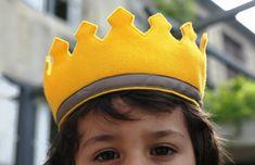 Les couronnes en tissu {DIY} {Free Pattern} Crown