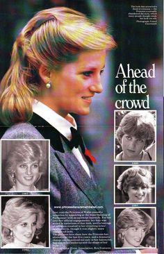 Hairstyles - Princess Diana Remembered