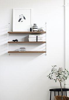 This String Pocket Shelving is elegantly dressed... http://www.nest.co.uk/search/string-pocket-shelving