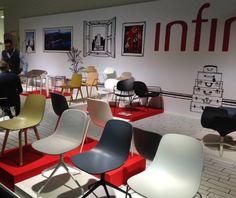 Chaise de bureau pivotante design 2 couleurs - Sledge