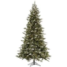 Vickerman 65 Sutter Creek Fir Artificial Christmas Tree With 450