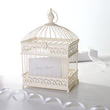 Bird Cage Wedding Post Box