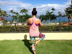 yoga in Maui, Hawaii