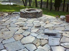 This particular gallery will share to you a collection of gorgeous stone patio ideas different backyard designs.