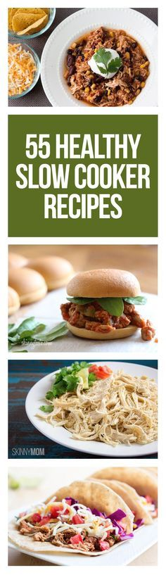 55 easy and healthy recipes to cook overnight!
