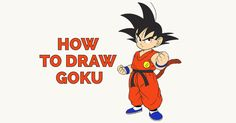 How to Draw Goku Learn to draw Goku from Dragon Ball with this easy step by step drawing tutorial. #howtodraw #goku #dragonball