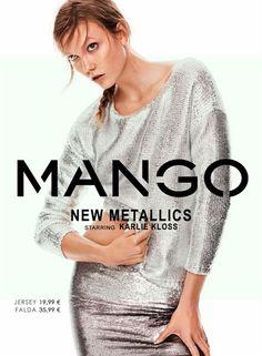 LA MODA ME ENAMORA : Moda Mango retoma la tendencia metálica en New Metallics