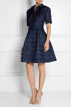 Oscar de la Renta | Jacquard dress | NET-A-PORTER.COM