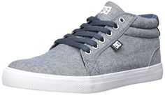 DC Womens Council Mid TX SE Skate Shoe Denim 6 B US ** Read more  at the image link.