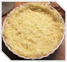 Tærtebund af revne kartofler – nemt, hurtigt og billigt – Dalsgaard i Skivholme