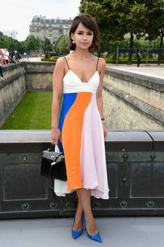Miroslava Duma at Christian Dior, PFW