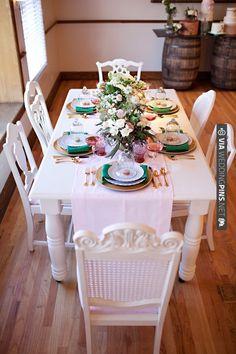 vintage tablescape ideas   CHECK OUT MORE IDEAS AT WEDDINGPINS.NET   #wedding