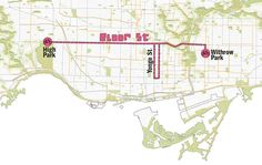 The proposed road closures (Image: courtesy of Open Streets TO) Toronto has countless street festivals each year, and most of them are pretty much the same