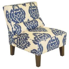 I pinned this Diamond Ikat Chair from the Elegant Living Room event at Joss & Main!