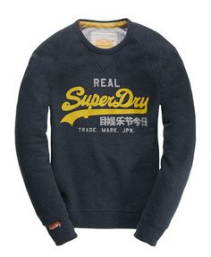 Superdry Vintage Logo Crew - Men's Tops