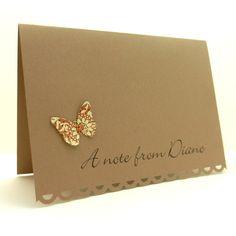 Note cards - Butterflies.
