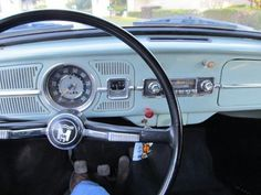 1966 interior - just like the one we bought new in 66