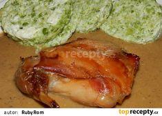 Králík po myslinecku s hráškovým knedlíkem Pork, Meat, Chicken, Kale Stir Fry, Beef, Pork Chops, Cubs