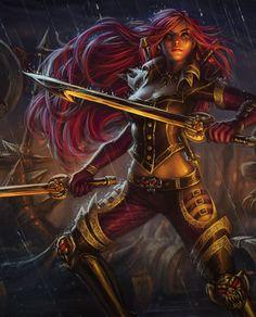 League of Legends game art