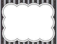 Printable Border, Printable Frames, Boarders And Frames, Boarder Designs, Scrapbook Frames, Classroom Labels, School Frame, Borders For Paper, Frame Clipart