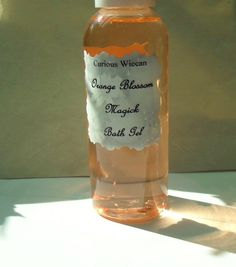 Orange Blossom Shower Gel by CuriousWiccan on Etsy, $6.99