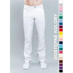 Funkcjonalność, higiena, rewelacyjne materiały i wysoki komfort użytkowania to cechy, jakie najczęściej wymieniają nasi klienci | Spodnie medyczne męskie. |
