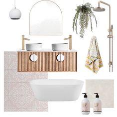 Bathroom Inspiration designed by Beach House Bathroom, Next Bathroom, Master Bedroom Bathroom, Boho Bathroom, Bathroom Interior, Interior Design Presentation, Beautiful Bathrooms, Bathroom Inspiration, Trends