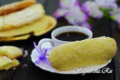 Печенье Савоярди в домашних условиях: фото
