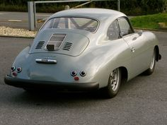 Porsche Pre-A 356, owned by Robert Barrie, who supplied me my 1966 Porsche 911SWB. This car ran at Goodwood Revival this year. Absolutely love it...