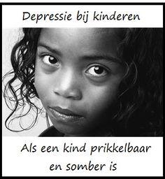 Depressie bij kinderen: als een kind prikkelbaar en somber is - KlasvanjufLinda.nl - vol met leuke lesideeën en lesidee